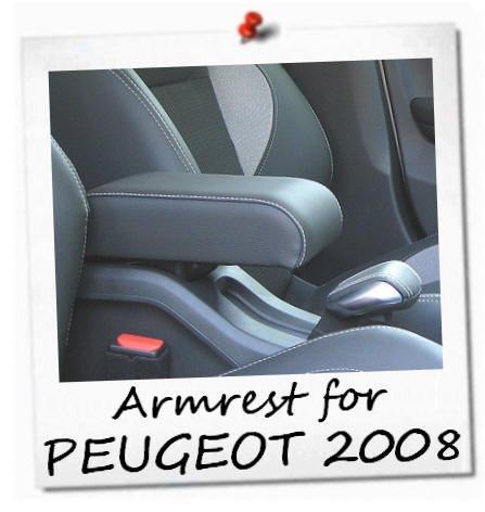 peugeot 2008 accoudoir premium plug in fixation armrest mittelarmlhne ebay. Black Bedroom Furniture Sets. Home Design Ideas