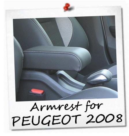 peugeot 2008 accoudoir premium plug in fixation armrest mittelarmlhne ebay. Black Bedroom Furniture Sets. Home Design Ideas