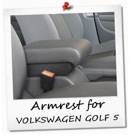 volkswagen golf 5 vw golf v premium armrest storage mittelarmlehne accoudoir ebay. Black Bedroom Furniture Sets. Home Design Ideas